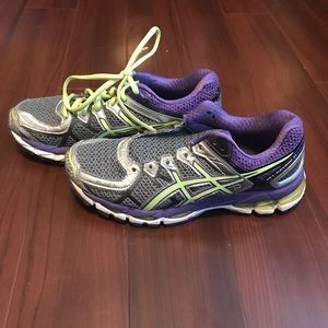 Asics Shoes - Asics Gel Kayano 21 Womens Shoes T4H7N Size 6.5